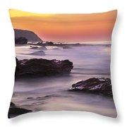 Song Of The Wave 2 By Denise Dube Throw Pillow