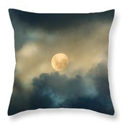 Song To The Moon Throw Pillow