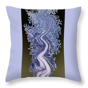 Song - Yucca Flower Throw Pillow