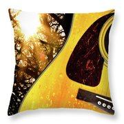 Songs From The Wood Throw Pillow