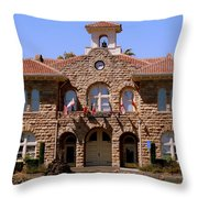Sonoma City Hall Throw Pillow