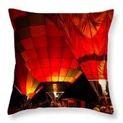 Sonoma County Hot Air Balloon Classic Throw Pillow