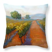 Sonoma Vineyard Throw Pillow
