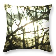 Soothing Force Throw Pillow
