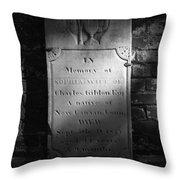 Sophia..... 1827 Throw Pillow