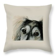 Sophia's Eyes Throw Pillow