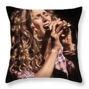 Sophie B Hawkins Throw Pillow