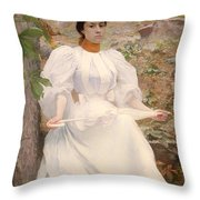 Sophie Hunter Colston Throw Pillow