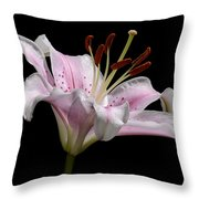 Sorbonne Lily-0002 Throw Pillow
