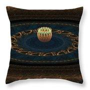 Sorcerer's Wheel Throw Pillow