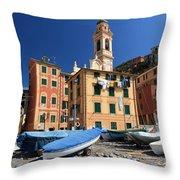 Sori - Seafront Throw Pillow