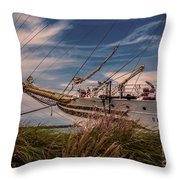 Sorlandet 5 Throw Pillow