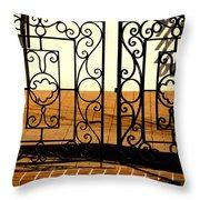 Sorosis Gate Throw Pillow