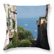 Sorrento Views Throw Pillow