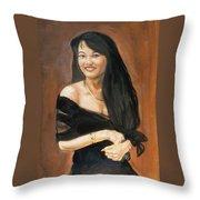Soua Lor Throw Pillow