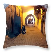 Souk Part Two Throw Pillow