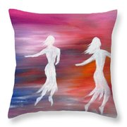 Soul Dance  Throw Pillow