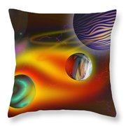 Soul Dance Throw Pillow