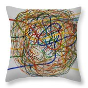 Soul Journey 1 Throw Pillow