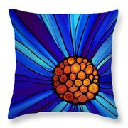 Soul Kiss 1 Throw Pillow by Sharon Cummings