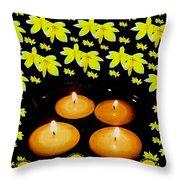 Soul Meditative Pop Art Throw Pillow