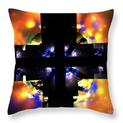 Soul Meets Body Throw Pillow