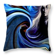 Soul Of A Woman Throw Pillow