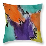 Soul Patch Throw Pillow