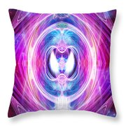 Soul Portrait Throw Pillow