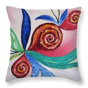 Soul Searching Throw Pillow