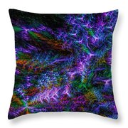 Souls Connectivity Abstract Throw Pillow