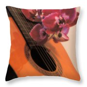 Sound And Sight Throw Pillow