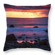 Sound Colors Throw Pillow