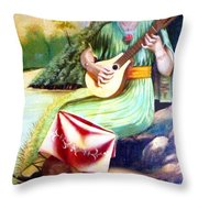 Sound Of River Throw Pillow