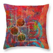 Sound Signs Throw Pillow