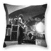 Soundcheck #8 Throw Pillow