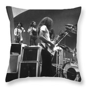 Soundcheck #8 Crop 2 Throw Pillow