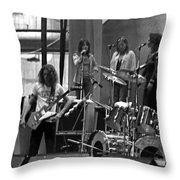 Soundcheck #9 Throw Pillow