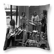Soundcheck #9 Crop 2 Throw Pillow