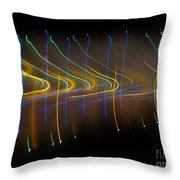 Soundcloud. Dancing Lights Series Throw Pillow