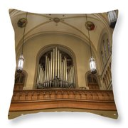 Sounds For Heaven Throw Pillow