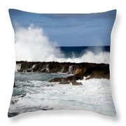 Sounds Of Hawaii Throw Pillow