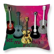 Sounds Of Music - Featured In Newbies Group Throw Pillow