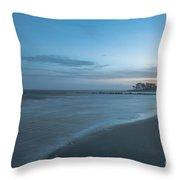 Sounds Of The Ocean Throw Pillow