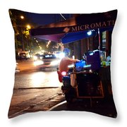 Soup Stand Throw Pillow
