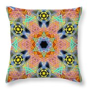 Source Fabric K1 Throw Pillow