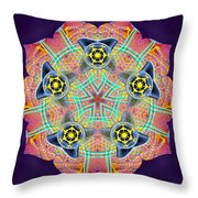 Source Fabric K3 Throw Pillow