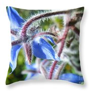 Source Of The Blues Throw Pillow