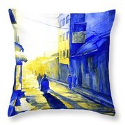 South American Sunrise Throw Pillow