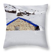 South Annapurna Base Camp - Nepal 04 Throw Pillow